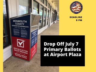 Want to Drop Off Your July 7 Primary Ballot_