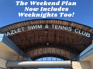 The Weekend Plan Now Includes Weeknights Too