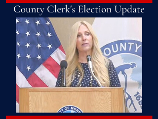 Sept. 9 Update from County Clerk