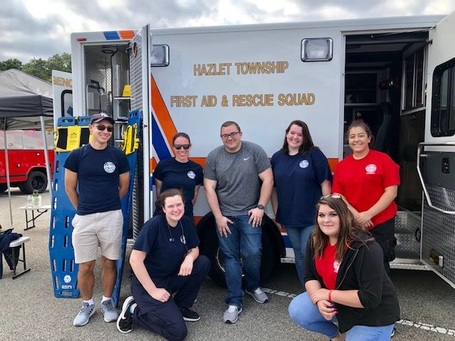 Hazlet First Aid Squad, young members