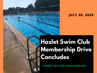Pool Club Membership Drive Concludes