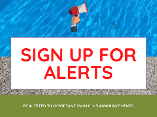 Sign Up for Swim Club Alerts
