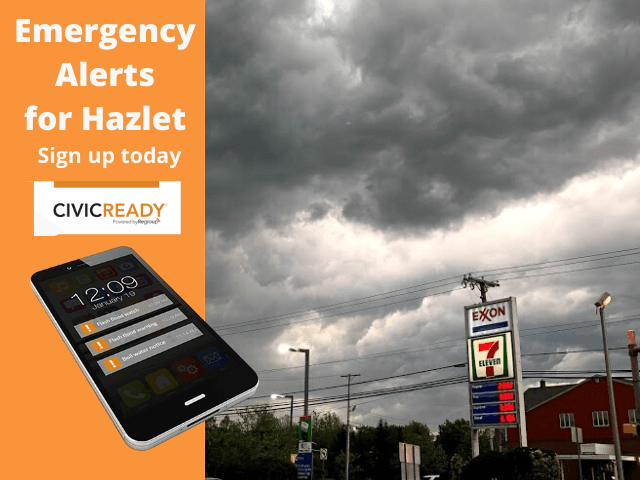 Sign up for Civic Ready Emergency Alerts