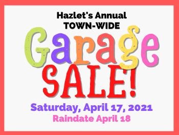 Town-Wide Garage Sale April 17, 2021