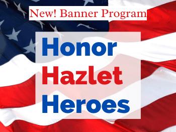 Honor Hazlet Heroes Banner Program