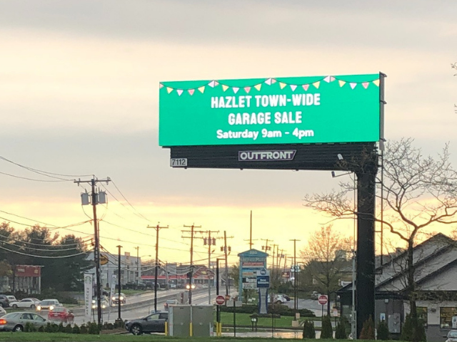 Garage Sale Billboard