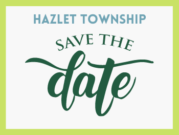 Hazlet Township Save the Date