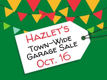Town-Wide Garage Sale is Oct. 16